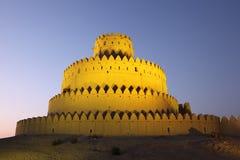 Al Jahili fort w Al Forcie, UAE Obrazy Royalty Free