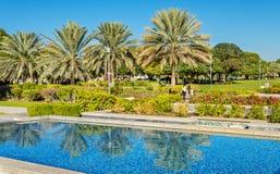 Al Jahli Park in Al Ain Royalty Free Stock Image
