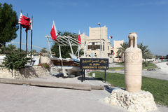 Al Jasra工艺品中心在巴林 免版税图库摄影