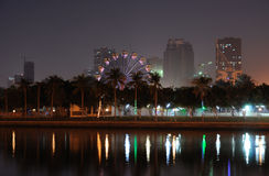 Al Jazeirah Park in Sharjah Stock Photography