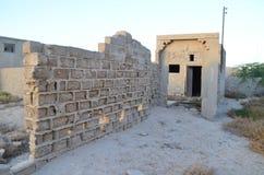 Al Jazirah Al的哈姆拉鬼魂村庄 免版税库存照片