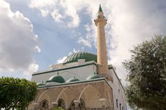 Al-Jazzar Mosque Royalty Free Stock Images