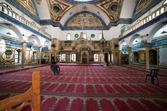 Al-Jazzar Mosque in Akko Royalty Free Stock Image