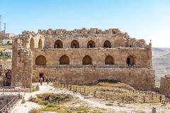 Al Karak,约旦 免版税库存图片