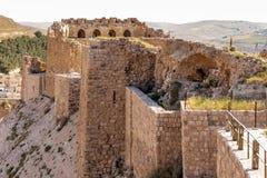 Al Karak,约旦 库存图片