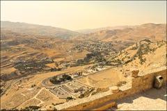 Al Karak Castle Royaltyfria Bilder