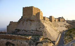 Al Karak kasteel Royalty-vrije Stock Foto's