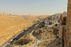 Al Karak kasztel Fotografia Stock