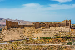 Al Karak kerak crusader castle fortress Jordan Royalty Free Stock Images