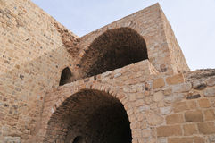 Al Karak/Kerak Crusader Castle, Jordan Royalty Free Stock Photo