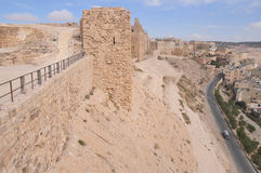 Al Karak/Kerak Crusader Castle, Jordan Stock Photography