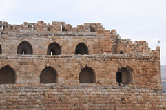 Al Karak/Kerak Crusader Castle, Jordan Stock Photos