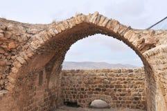 Al Karak/Kerak Crusader Castle, Jordan Stock Images