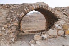 Al Karak/Kerak Crusader Castle, Jordan Royalty Free Stock Photography