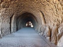 Al - Kerak (Karak) nel Giordano Fotografia Stock