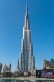 Al Khalifa de Burj, a construção a mais alta no mundo Foto de Stock