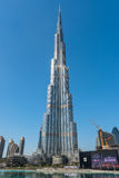 Al Khalifa, le bâtiment le plus grand de Burj au monde Photo stock