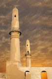 Al Khamis mosque at sunset in Bahrain Royalty Free Stock Image