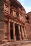 Al Khazneh. Or The Treasury at Petra, Jordan Stock Image