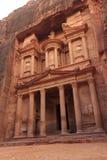 Al Khazneh. Or The Treasury at Petra, Jordan Royalty Free Stock Photo