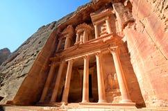 Al Khazneh Royalty Free Stock Photography