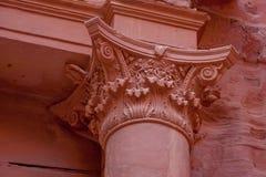 Al-Khazneh célèbre ou trésor de tombe dans PETRA Photos stock