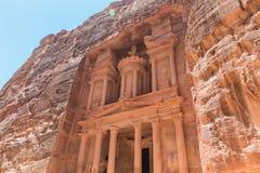 Al Khazneh en el Petra imágenes de archivo libres de regalías