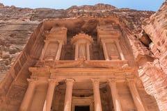 Al Khazneh en el Petra foto de archivo libre de regalías