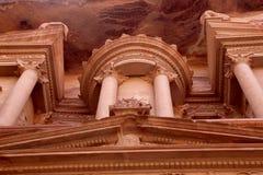 Al Khazneh ou o Tesouraria em PETRA, Jordânia Imagem de Stock Royalty Free