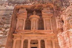 Al Khazneh in Petra. Jordan Stock Photo