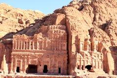 Al Khazneh in Petra, Jordan. Stock Image