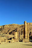 Al Khazneh in Petra, Jordan. Royalty Free Stock Photos