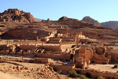 Al Khazneh in Petra, Jordan. Royalty Free Stock Photography