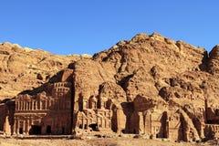 Al Khazneh in Petra, Jordan. Royalty Free Stock Images