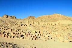 Al Khazneh in Petra, Jordan. Stock Images