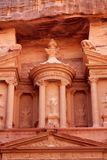 Al-Khazneh temple in Petra, Jordan Royalty Free Stock Photo