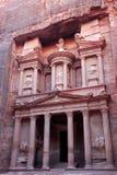 Al Khazneh, the treasury of Petra ancient city, Jordan. Al Khazneh, the treasury of Petra ancient city Stock Photo