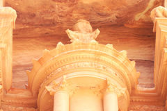 Al Khazneh , The treasury of Petra  Jordan Royalty Free Stock Image