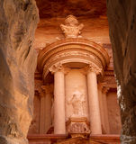 Al Khazneh or The Treasury at Petra, Jordan Stock Images