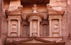 Al Khazneh or The Treasury at Petra, Jordan Stock Image