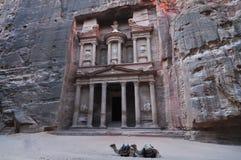 Al Khazneh - Treasury, Petra Stock Image