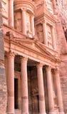 Al Khazneh or The Treasury at Petra Royalty Free Stock Photos