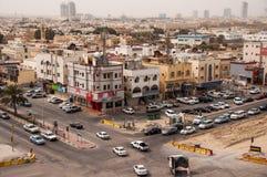 Al Khobar i Saudiarabien Arkivbilder