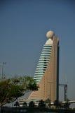Al Kifaf - telekommunikationer som bygger Dubai ETISALAT Arkivbilder