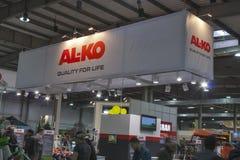 Al-KNOCK-OUT het bedrijfcabine van Duitsland Stock Afbeelding
