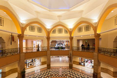Al Kout centrum handlowe w Fahaheel, Kuwejt Zdjęcia Royalty Free