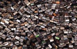 Al lado de fondo de madera colorido Imágenes de archivo libres de regalías