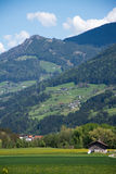 Al lado de la autopista de Brenner, Italia Foto de archivo
