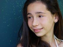 Al lado de la muchacha fotografía de archivo libre de regalías