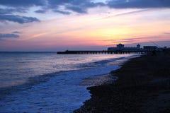 Al lato della spiaggia Immagine Stock